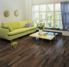 Walnut Engineered Hardwood Flooring This is beautiful! Engineered Hardwood Flooring, Hardwood Floors, Light And Space, Kitchen Reno, Window Coverings, Home Improvement, House, Furniture, Cottage Ideas
