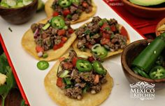 Mexico in my Kitchen: Mexican Steak Tartare|Authentic Mexican Food Recipes Traditional Blog