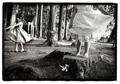Fairies in the garden.... By Peonies and Polaroids