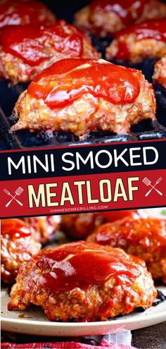 An easy dinner recipe to make for summer? These mini meatloaves are tender, juicy, and full of flavor! Quick and easy to make, this smoked meat recipe will become a new favorite! Enjoy smoked cooking this summer!