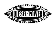 Diesel Power Vinyl Car Decal by CountryChicAntiques on Etsy, $12.00