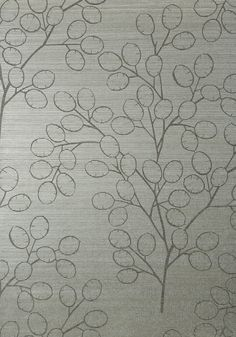 MONEY TREE, Metallic Silver, T83014, Collection Natural Resource 2 from Thibaut