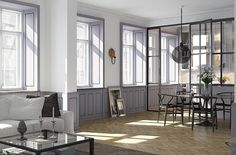 GLASSY: A Selection Of Glass Divides | Photo courtesy of Eklund Stockholm New York.