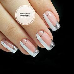Almond Acrylic Nails, Cute Acrylic Nails, Cute Nails, Pretty Nails, Perfect Nails, Gorgeous Nails, Pink Nails, Gel Nails, Manicure Nail Designs