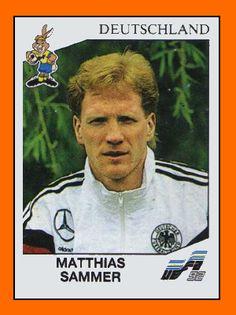 Matthias Sammer es un ex-futbolista alemán. Nació en Dresden, Alemania Democrática, el 5 de septiembre de 1967. Actualmente desempeña el cargo de director deportivo en el F.C. Bayern München . Jugó como mediocentro y más adelante en su carrera como defensor. Ganó el Balón de Oro en 1996 y fue 2 veces seguidas considerado el Futbolista Alemán del Año (1995 y 1996).