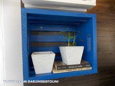 Transformando caixotes em nichos