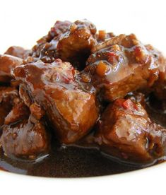 My favorite chef is Yono. Here is his recipe for a delicious Indonesian meal - Babi Kecap (Pork Stew Soysauce). Healthy Slow Cooker, Healthy Crockpot Recipes, Spicy Recipes, Asian Recipes, Cooking Recipes, Delicious Recipes, Dutch Recipes, Lamb Recipes, Tapas