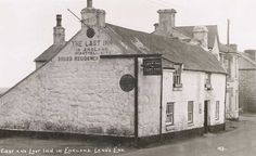 Cornwall, Lands End, The First and Last Inn in England