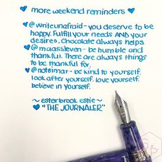 Esterbrook The Journaler Nib A Great Writer for Handwriting and Journaling 13 - Azizah Asgarali