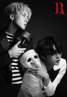 VIXX LR (Leo-Ravi) Beautiful Liar.~Two of the best looking people, Wontaek <3