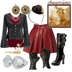 """Steampunk Princess"" by princesschandler on Polyvore"