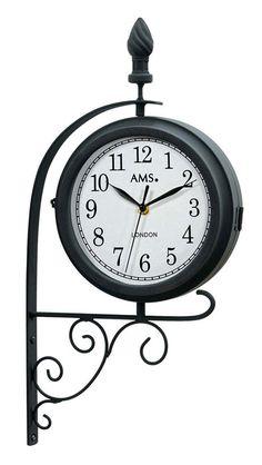 AMS Wanduhr Bahnhofsuhr bei Uhren4you: Versandkostenfrei und mit 100 Tage Rückgabegarantie bestellen! ★★★Tiefpreisgarantie!★★★