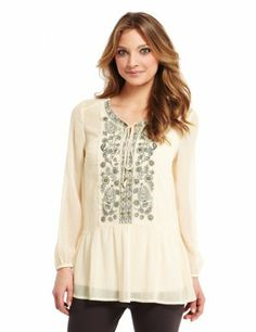 Indigo Collection Floral Embroidered Blouse with Camisole-Marks & Spencer