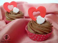 cupcake al cioccolato con crema di burro alla nutella