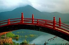 I think I have a pic of me on this bridge...or one just like it!  Mt. Osore, Amori Prefecture Japan....I think.