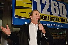 Ed Schultz Is an American television and radio host and a liberal political commentator . He is the host of The Ed Show, a daily news talk program on MSNBC, and The Ed Schultz Show, a talk radio show.
