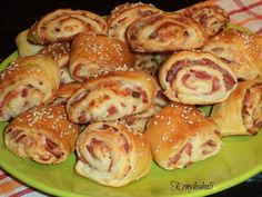 Sushi, Sausage, Recipies, Food And Drink, Appetizers, Bread, Baking, Breakfast, Ethnic Recipes