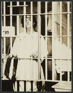 Helene Hill Weed, 1917, suffragist and prisoner