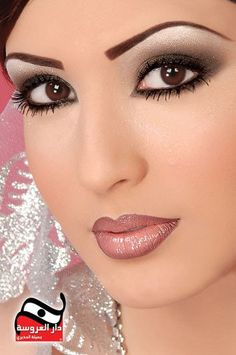 Arabic Eye Make Up, suitable for daily use