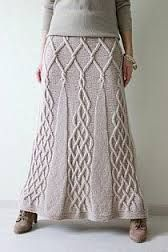 Knitted Skirts - Fashionable skirts made of high quality wool Knitted Skirts fantastic knit skirt! Crochet Skirts, Knit Skirt, Knit Or Crochet, Crochet Clothes, Knit Dress, Cable Knitting, Hand Knitting, Tricot D'art, Diy Vetement