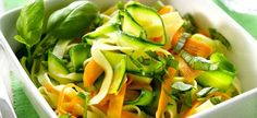 Delhaize - Tagliatelle met groentelinten