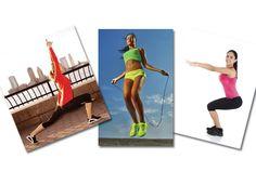 Se você não é do tipo que acompanha as modas de academia, fuja do sedentarismo praticando atividades simples, como pular corda, fazer agachamentos ou flexões e confira os resultados