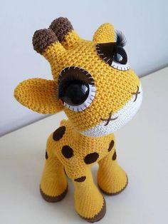 HackyHracky / Háčkovaná žirafa
