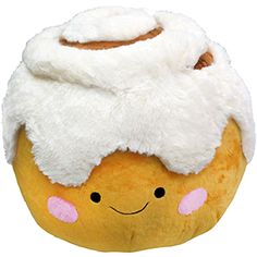 Squishable Cinnamon Bun. Who doesn't need a large plush cinnamon bun in their life