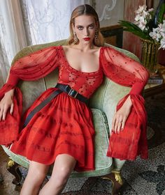 Harper's Bazaar December 2017 Hannah Ferguson by Mariano Vivanco