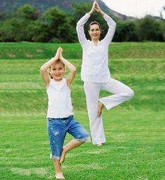 Йога с детьми: 12 упражнений