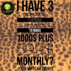 I can't keep up with all these clients wanting wraps, so I want to sign up3⃣new distributors today that I will personally mentor 1 on 1 & help get to Ruby level in their 1st 2 calendar months & that also means you would get the RUBY BONUS $1,000 on top of your commissions...not to mention $100 fast start bonuses...but you need to work and FOLLOW MY LEAD. It is more than possible to do so! I achieved Ruby level in my first 2 calendar months & the Ruby Bonus. Message me!!!