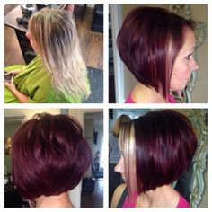 2015 Short a Line Bob Hairstyle