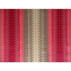 Linwood Annecy LF1175FR raspberry velvet stripe upholstery fabric<br />We recommend a sample of this fabric if colour is important to you as colours on different screens may vary.