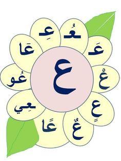 Islamic Alphabet, Arabic Alphabet Letters, Alphabet Letter Crafts, Arabic Alphabet For Kids, Alphabet Worksheets, Alphabet Activities, Arabic Handwriting, Learn Arabic Online, Arabic Lessons