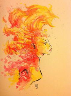 Dark Phoenix by Skottie Young