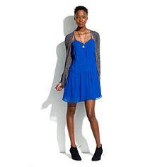 napoleon blue flapper dress, love.