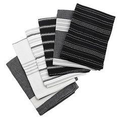 Black tea towel bale - Kitchen textiles - Cookware - Home & furniture -