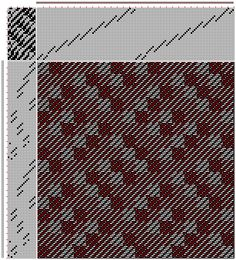 Figure 714, A Handbook of Weaves by G. H. Oelsner, 34S, 18T