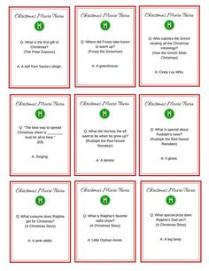 Mesmerizing image with regard to printable christmas movie trivia questions and answers