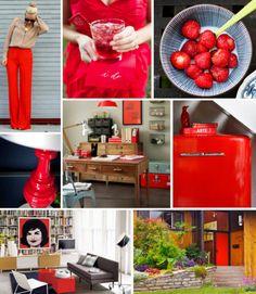 Mood Board Monday: Bright Red