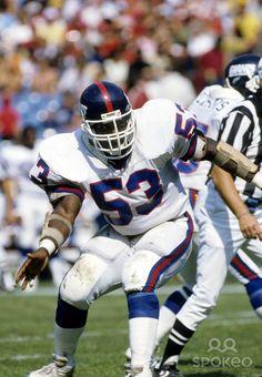 NFL Jerseys Sale - Harry Carson in old school Giant's uniform #nyg | NY Football ...