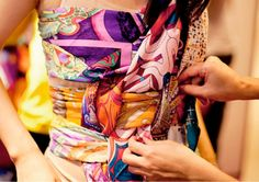 Hermes scarf party !