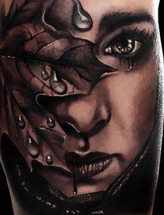 Woman Tattoo | Andrea Afferni