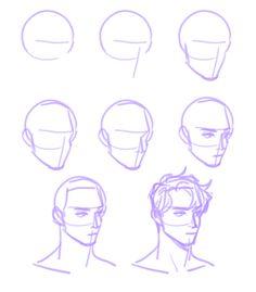 Manga Drawing Tips Drawing Heads, Drawing Base, Manga Drawing, Drawing Tips, Figure Drawing, Art Reference Poses, Drawing Reference, Poses References, Anatomy Art