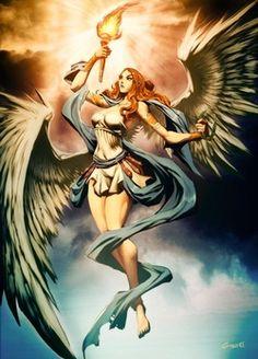 seres alados mitologia - Pesquisa Google
