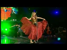▶ Shakira - Gitana (Rock in Rio Madrid 2010) - YouTube; inspiration for bellydance choreo