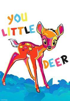 Bambi, Deer, Pikachu, Fictional Characters, Art, Art Background, Kunst, Performing Arts, Fantasy Characters