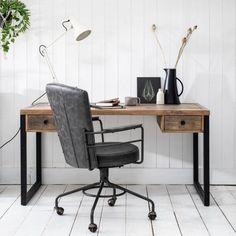 Standford Industrial Reclaimed Wood Desk