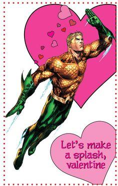 DC Comics Valentine's Day Aquaman