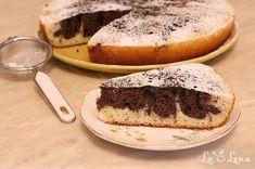 Prajitura marmorata la tigaie - reteta pe pasi cu POZE - LaLena.ro Loaf Cake, No Cook Desserts, Cheesesteak, Fudge, Banana Bread, Sweets, Cooking, Ethnic Recipes, Cooking Recipes